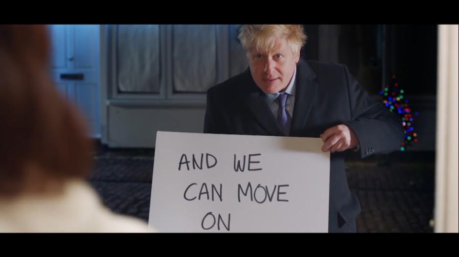 Johnson wirbt mit Filmklassiker-Parodie