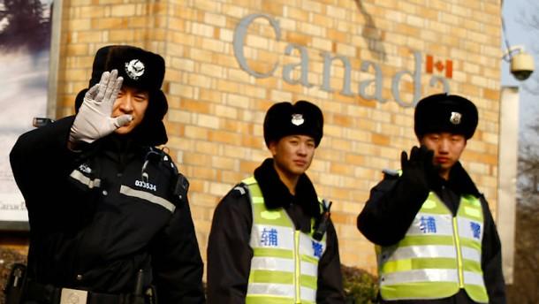 Freilassung der in China verhafteten Kanadier gefordert