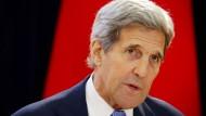 Kerry warnt vor Scheitern der Atomverhandlungen