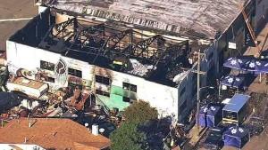 Mehr als 30 Tote bei Feuer in kalifornischem Lagerhaus