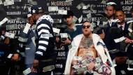 McGregor und Mayweather im Zeichen des Dollars