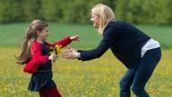 Wird gerne übersehen: Zeit mit dem Kind zu verbringen, kann auch Spaß machen.