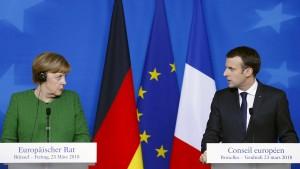 Merkel erwartet im Juni Einigung zu Asylsystem