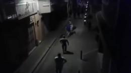 Nächtliche Zusammenstöße in Calella
