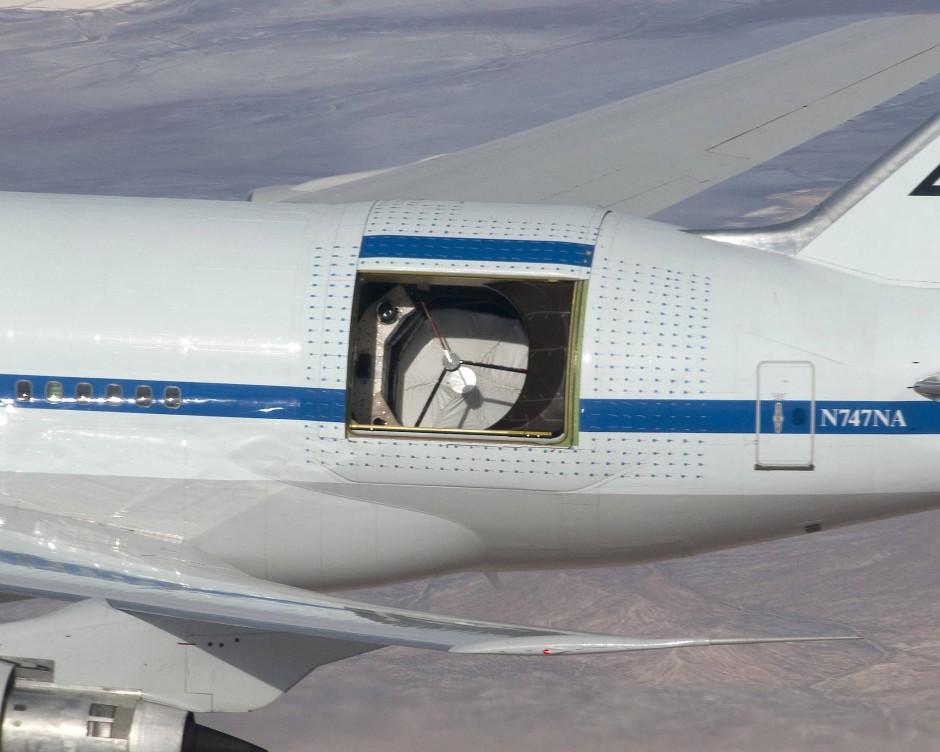 """Astronomie-Flugzeug """"Sofia"""""""