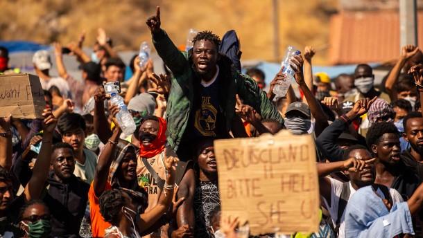 In den Trümmern europäischer Asylpolitik