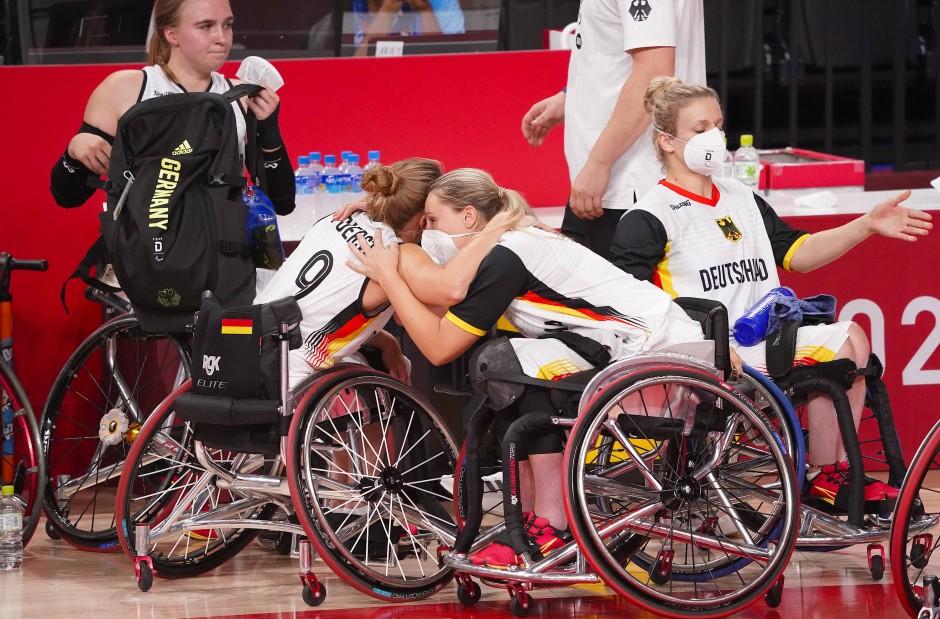 Paralympics: Goldträume von Rohlstuhl-Basketballerinnen und Tischtennis-Duo geplatzt