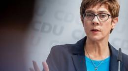 "CDU rechnet mit ""normaler Legislaturperiode"""