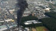 350.000 Haushalte nach Brand bei Tokio ohne Strom
