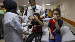 Im Shifa-Krankenhaus herrscht ein Kampf an zwei Fronten