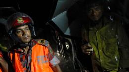 Rohingya verunglücken bei Flucht nach Bangladesch
