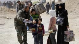 Tausende Zivilisten fliehen aus Ost-Ghouta