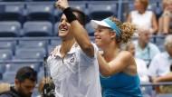 Ein Zufallspaar mit Erfolg: Mate Pavic und Laura Siegemund gewinnen den Mixed-Titel bei den US Open.
