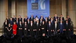 Streit um Rüstungsausgaben trübt Nato-Jubiläum