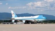 Bidens und Putins Flugzeuge: Ein Fest für Planespotter