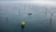 Strom von der Nordsee: Darmstadts Entega ist mit 24,9 Prozent an dem Windpark Global Tech beteiligt.