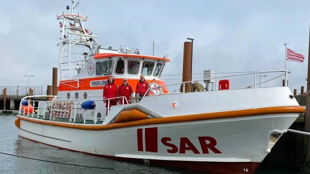 Frau aus Sylt bringt Sohn auf Rettungsschiff zur Welt