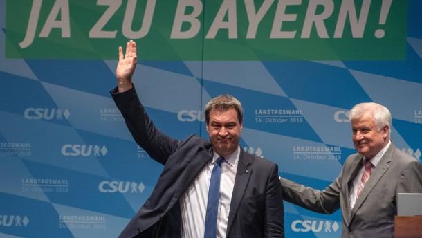 Wie die Kluft zwischen CSU und Wahlvolk wuchs