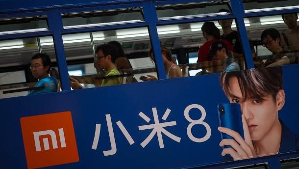 Enttäuschendes Börsendebüt für Xiaomi