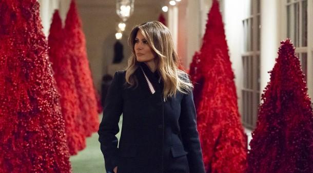 Das Tannenbaum.Weihnachtsdeko Im Weißen Haus Oh Tannenbaum Wie Rot Sind Deine Blätter