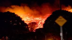 Santa Barbara in Flammen