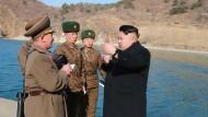 Nordkoreanisches U-Boot feuert Rakete ab