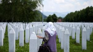 Leugnung des Völkermords von Srebrenica soll strafbar werden