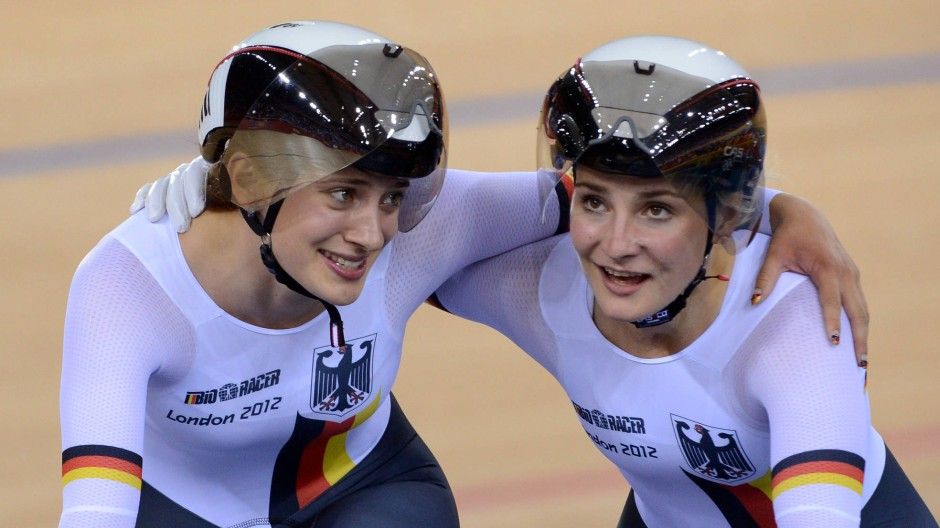 Erfolgsduo: Miriam Welte (l.) und Kristina Vogel