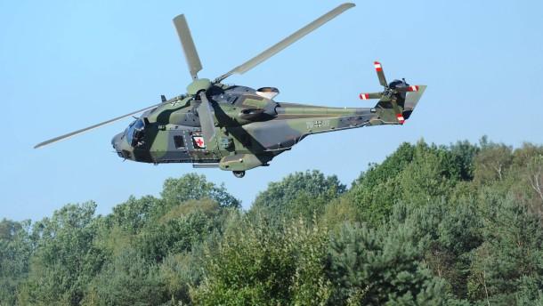 Piloten haben vor eigenen Hubschraubern Angst