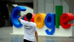 Google gesteht Fehler beim Datenschutz ein