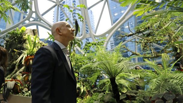 Amazon muss keine Steuern auf Milliardengewinn zahlen