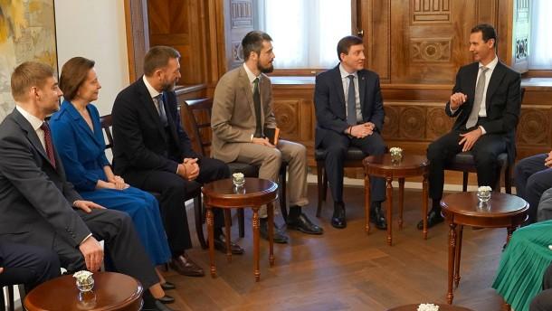 Russischer Politiker: Assad will keine Kursänderung