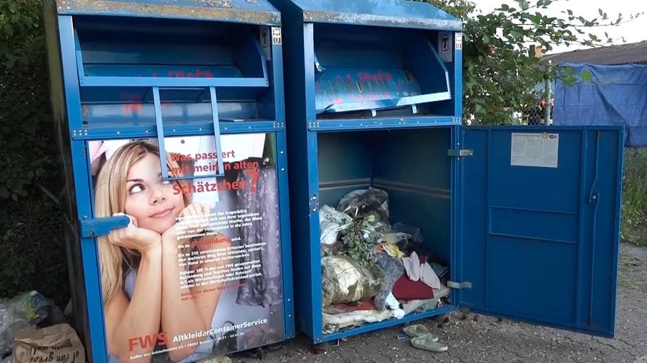 In einem der Container war die junge Frau gestorben.
