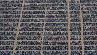 Parkplatz der Rückkaufautos