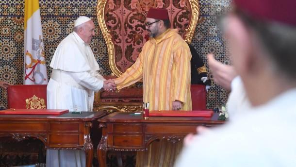 Papst reicht muslimischer Welt die Hand