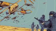 Drohnenschwärme gegen Soldaten – wird so der Krieg der Zukunft aussehen?