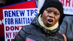 Für Zehntausende Haitianer tickt die Uhr