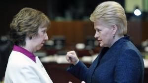 Diplomatie ohne geschützten Raum