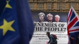 Britisches Parlament erzwingt Brexit-Veto-Recht
