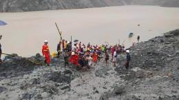 Mehr als hundert Tote bei Erdrutsch in Jade-Mine