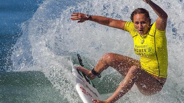 In Kalifornien wird erstmals seit Corona wieder gesurft