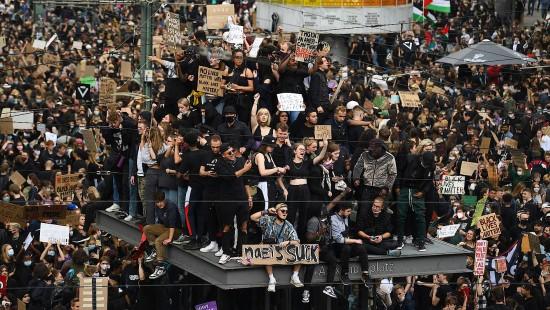 Demonstrationen gegen Rassismus in ganz Deutschland