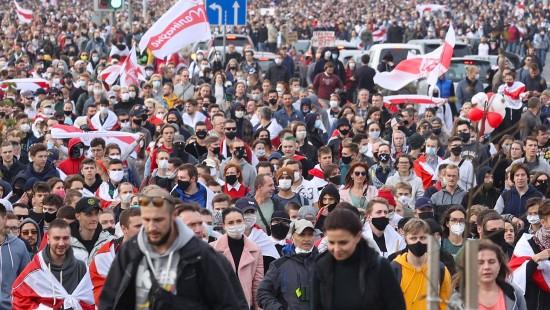 Abermals Massenproteste in Belarus
