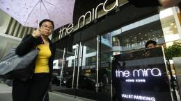 Herabfallendes Hotelfenster erschlägt Touristin in Hongkong