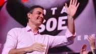 Wahlsieger ohne eigene Mehrheit: Pedro Sánchez