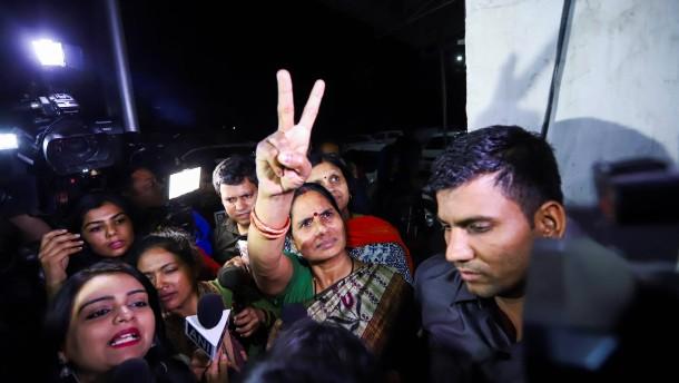 Indien richtet vier Haupttäter hin