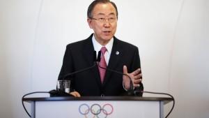 Ban verurteilt Einsatz von Fassbomben in Syrien