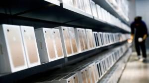 Chinesischer Markt für Smartphones bricht ein