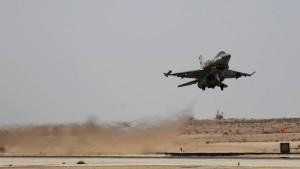 Kampfjets bombardieren Ziele im Gazastreifen