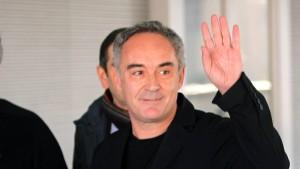 Millionenklage gegen Ferran Adrià